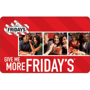 Friday's $20 Gift Card